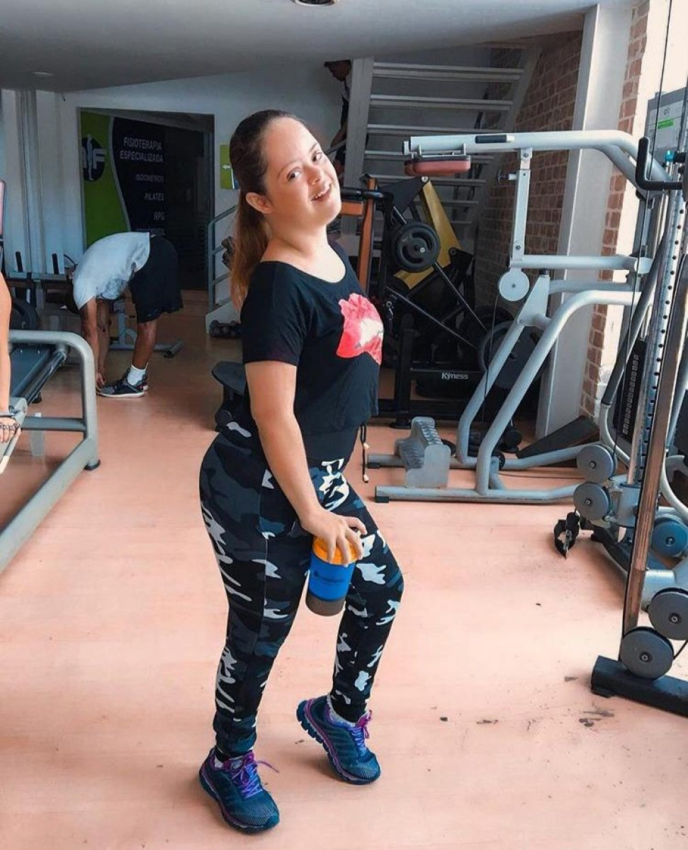 [A vida fitness de Cacai Bauer e a importância de uma vida saudável para o PCD]