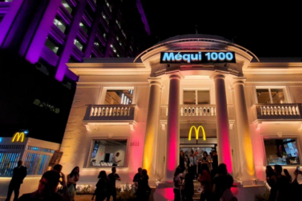 [O milésimo McDonald's brasileiro é inaugurado na Av. Paulista ]