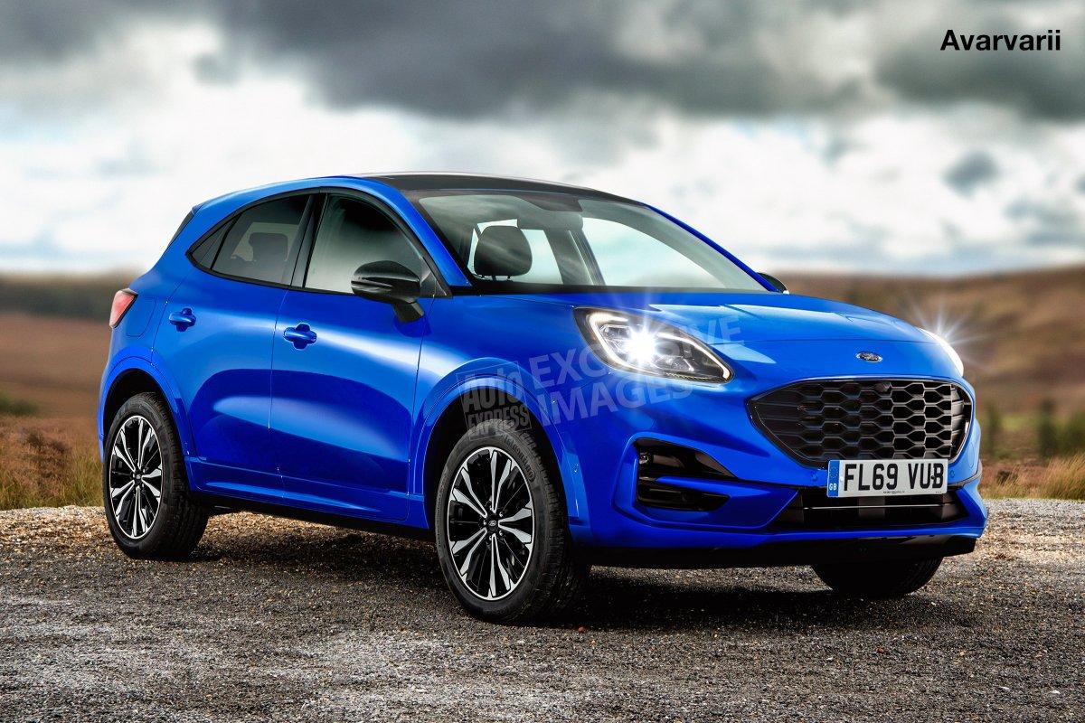 [Ford Puma será SUV médio acima do EcoSport]