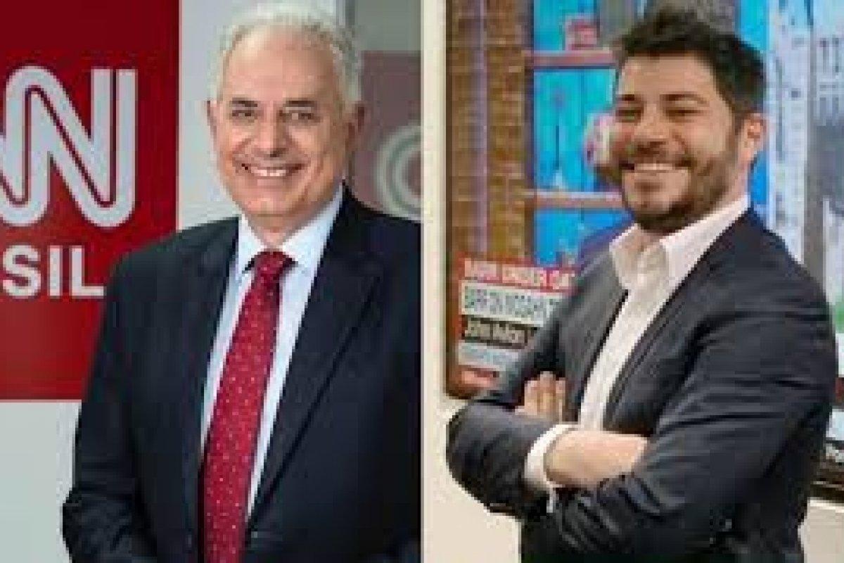 [William Waack e Evaristo Costa assinam contrato com a CNN Brasil]