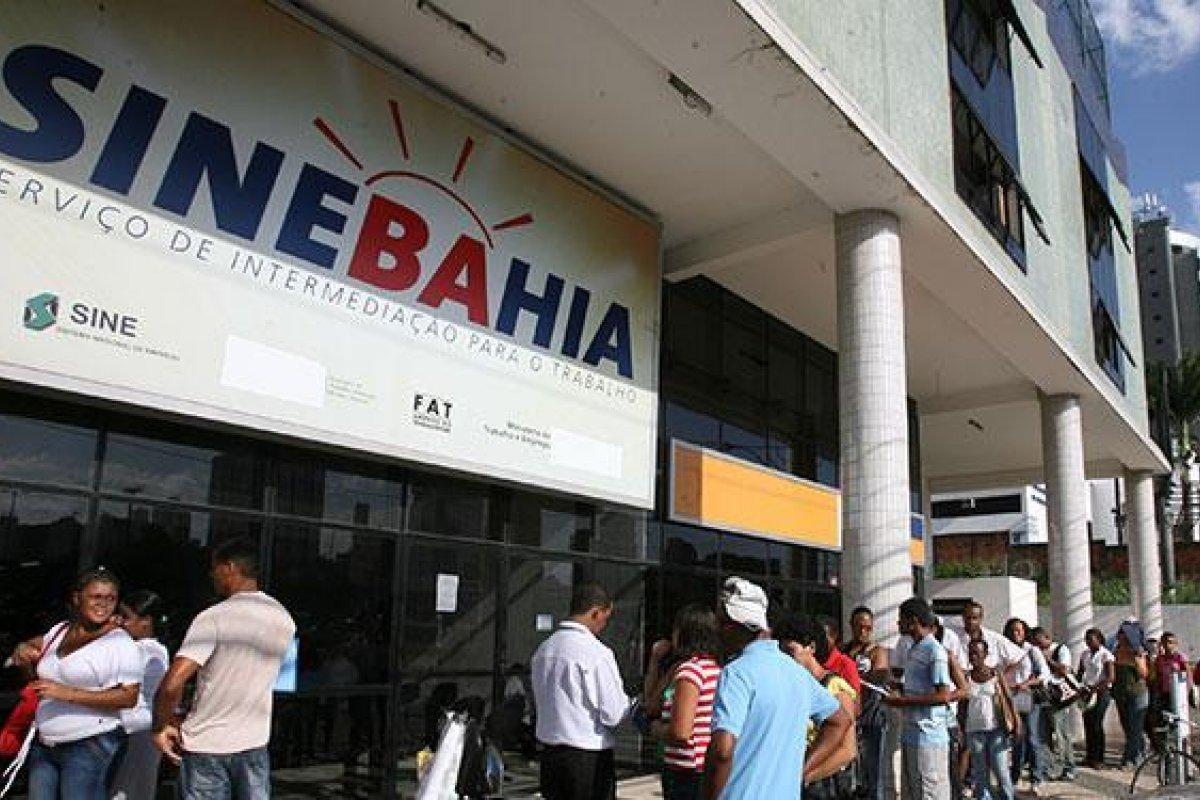 [SineBahia divulga dez vagas de trabalho para quinta-feira (06/06) em Salvador]