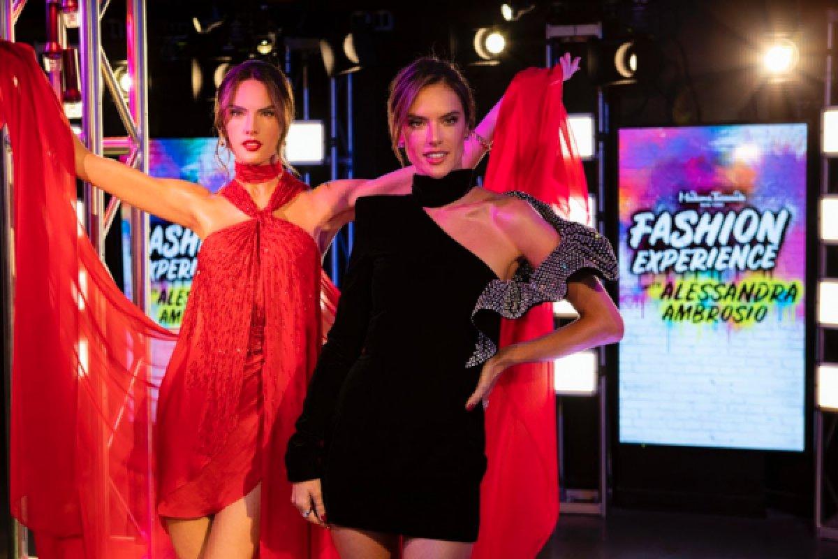 [Madame Tussauds NY inaugura estátua de cera de modelo brasileira ]