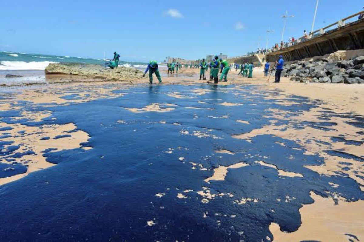 [Praias atingidas por manchas de óleo já chegam a 907 ]