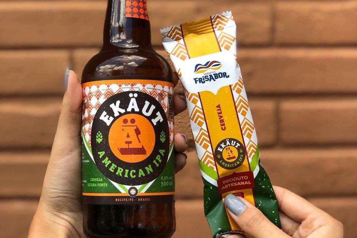 [Verão: empresas de Pernambuco inovam e lançam picolé de cerveja]