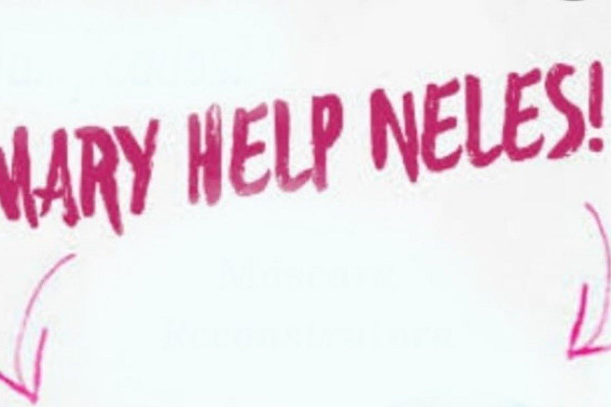 [Mary pedindo Help]