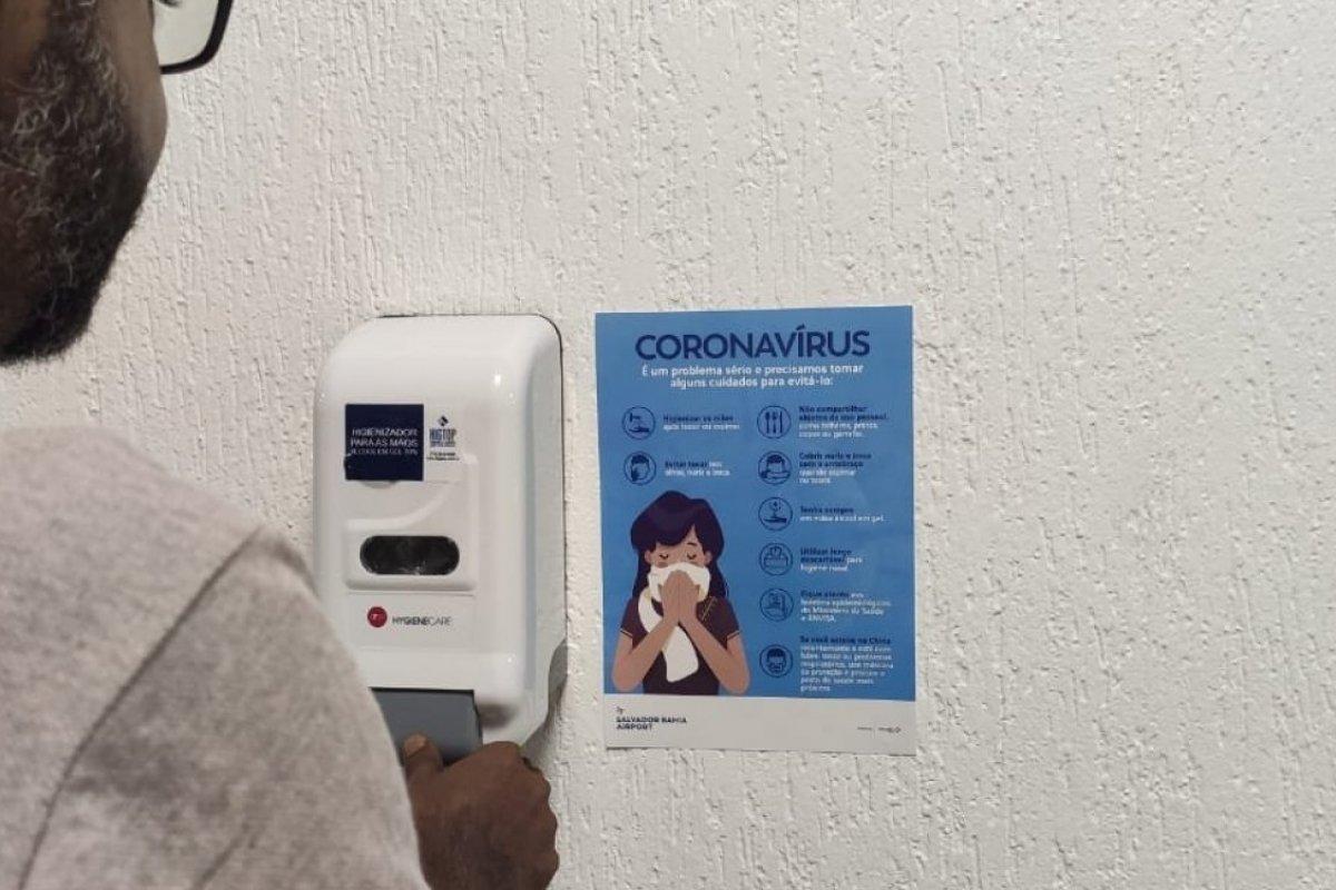 [Aeroporto de Salvador e Anvisa apresentam plano de contingência contra o coronavírus]