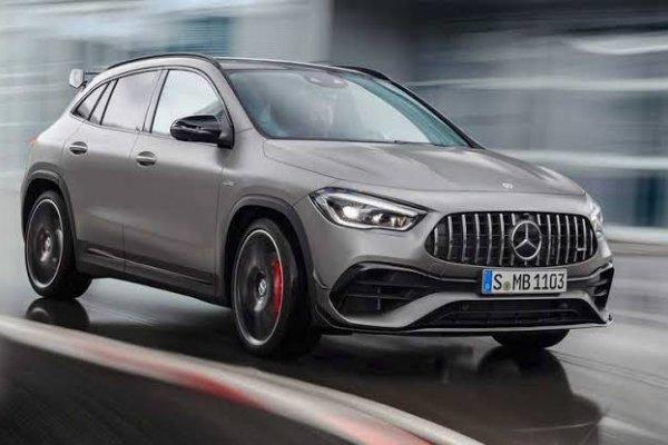 [Novo Mercedes-Benz GLA 45 AMG estreia na Europa ]