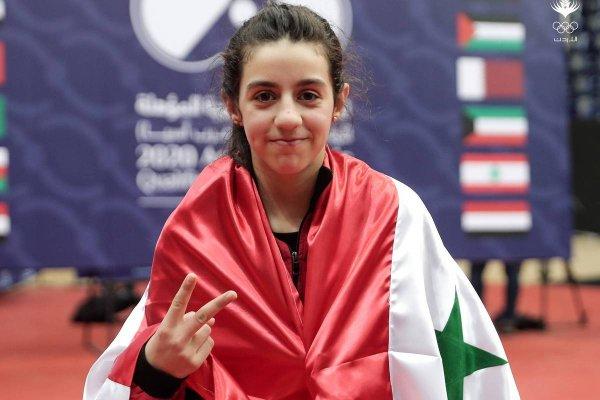 [Contemporânea da guerra, menina síria de 11 anos garante vaga nas Olimpíadas ]
