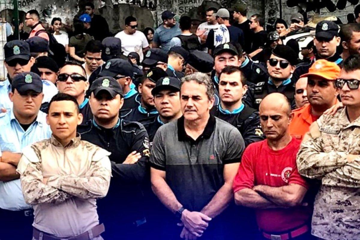 [Reunião entre comissão e liderança de policiais militares termina sem acordo]