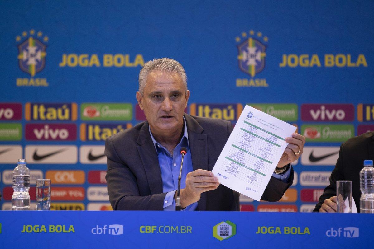 [Tite convoca 23 jogadores para a Copa América no Brasil ]
