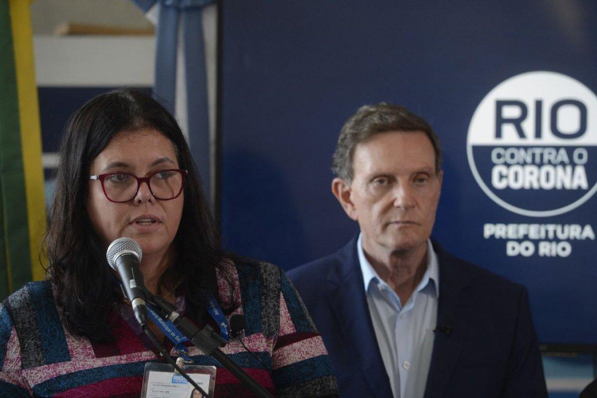 [Secretária de Saúde do Rio é internada com suspeita de Covid-19]