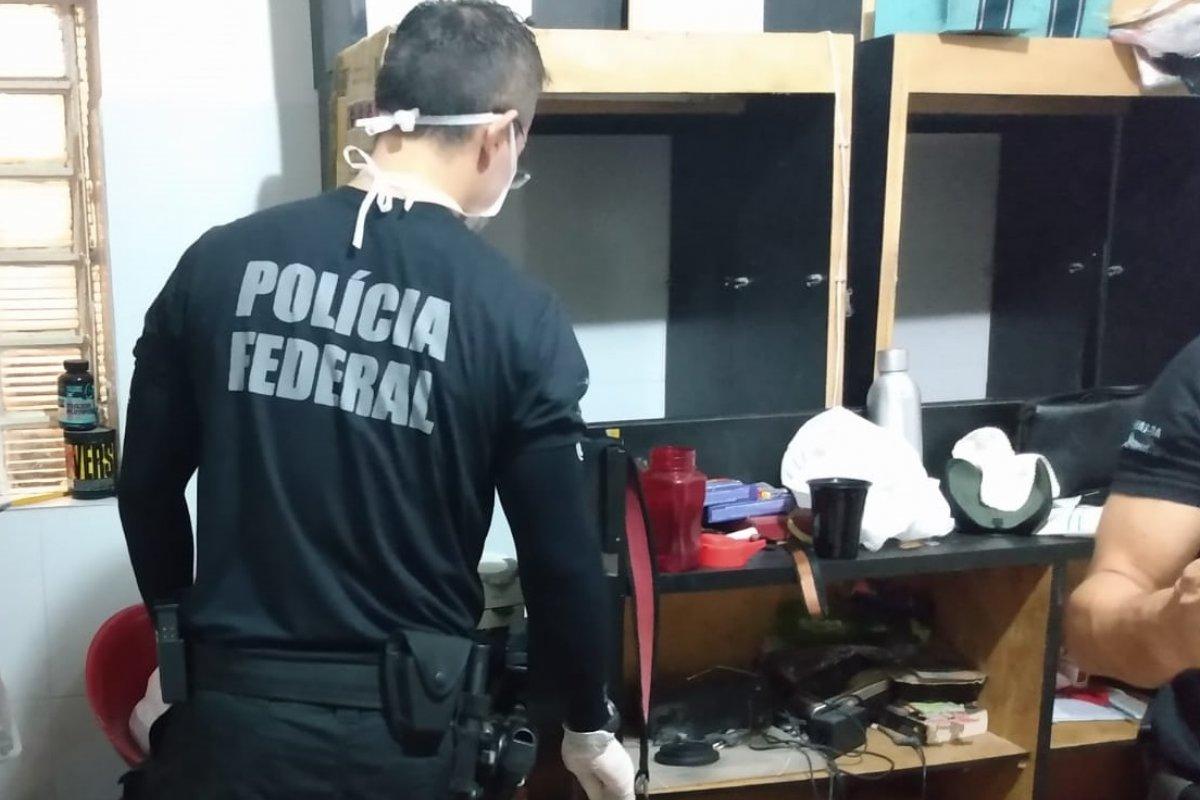 [MP e Polícia Federal cumprem mandados de busca e apreensão em Paulo Afonso]