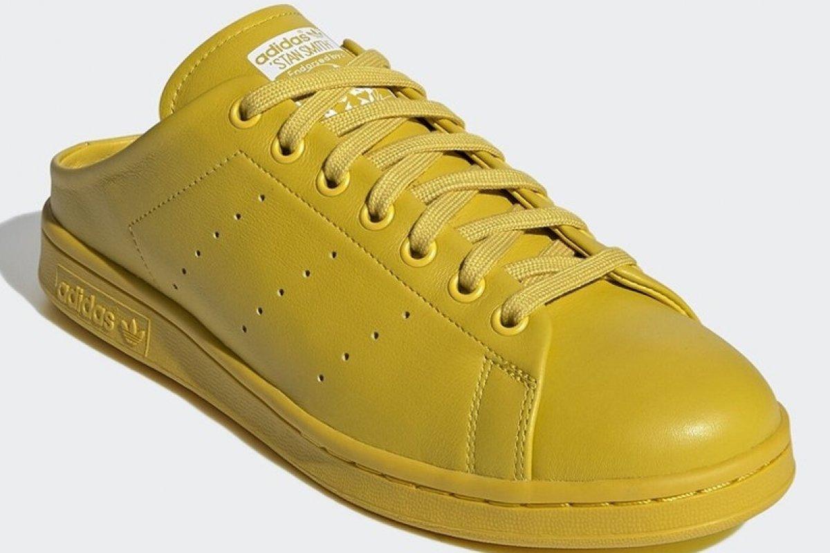 [Em versão mule, Adidas lança icônico tênis Stan Smith ]