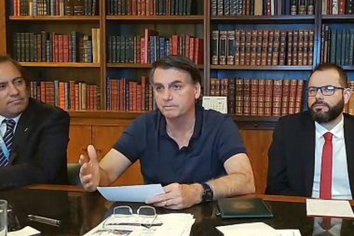 [Em live, Bolsonaro confirma que auxílio deve ter quarta parcela ]
