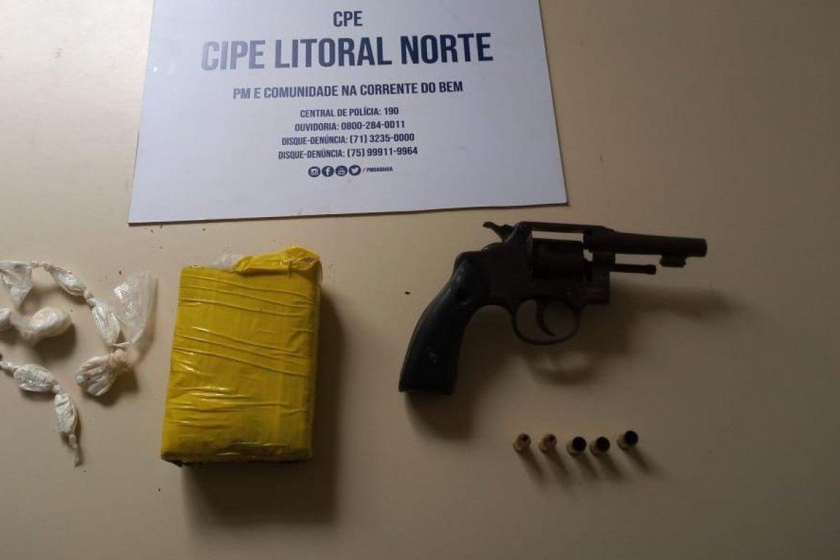 [Rondesp e Cipe prendem traficantes nas cidades de Salvador e Governador Mangabeira]
