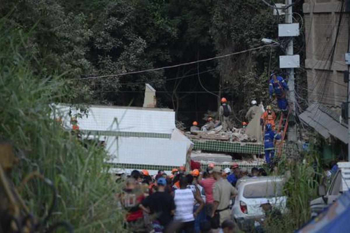 [Polícia prende envolvido no desabamento de prédio na Muzema]