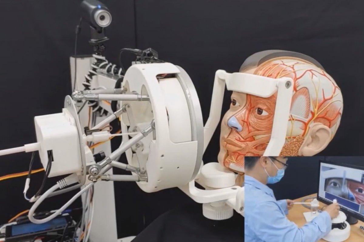 [Cientistas coreanos criam robô para fazer testes e evitar contaminação por coronavírus, veja vídeo]