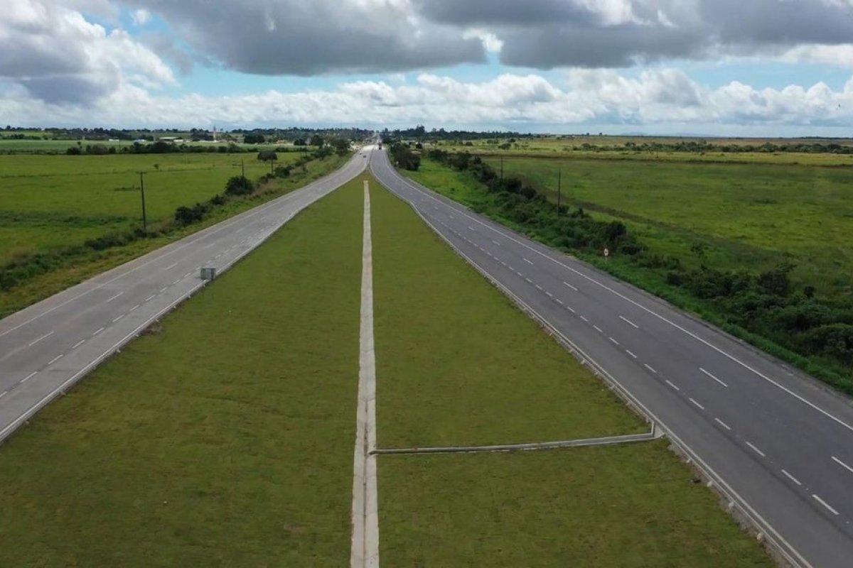 [Obra de duplicação da BR-101 em Sergipe é liberada para o tráfego]