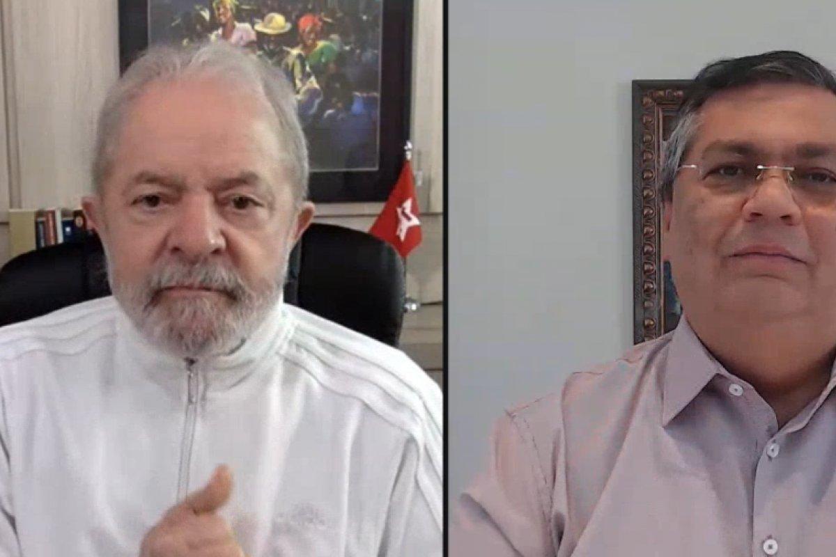 [Live entre Lula e Flávio Dino tem alto índice de rejeição entre internautas]