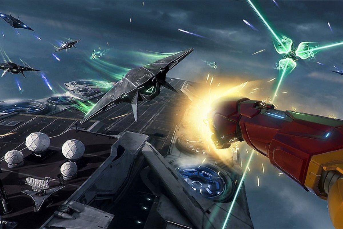 [Chega ao PlayStation VR, o novo game do Homem de Ferro,