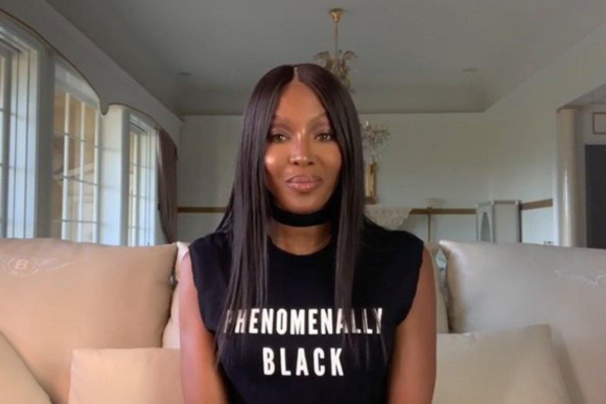 [Naomi Campbell abre semana de moda de Paris com discurso sobre igualdade racial]