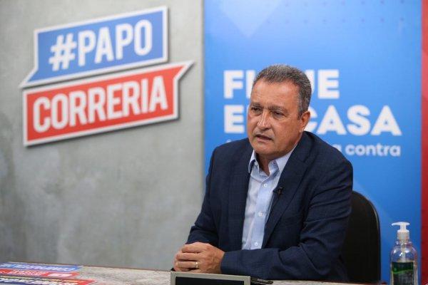 [Rui Costa diz estar preocupado com interiorização dos casos de Covid-19 na Bahia]