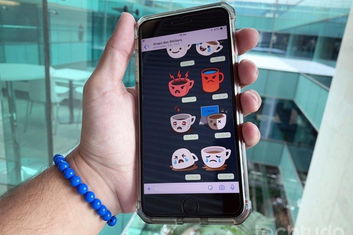 [WhatsApp estreia figurinhas animadas para Android e iPhone (iOS)]