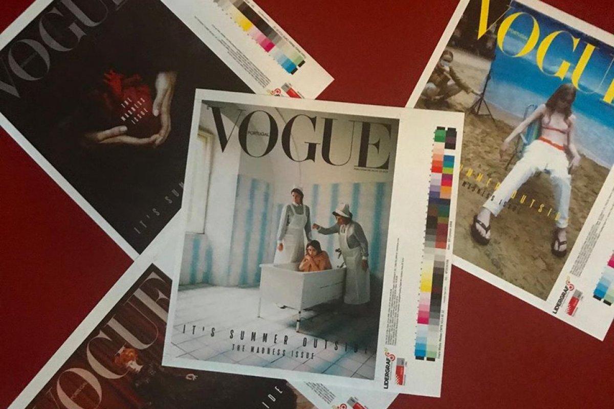 """[Vogue Portugal é detonada por capa de """"mau gosto"""" sobre saúde mental]"""