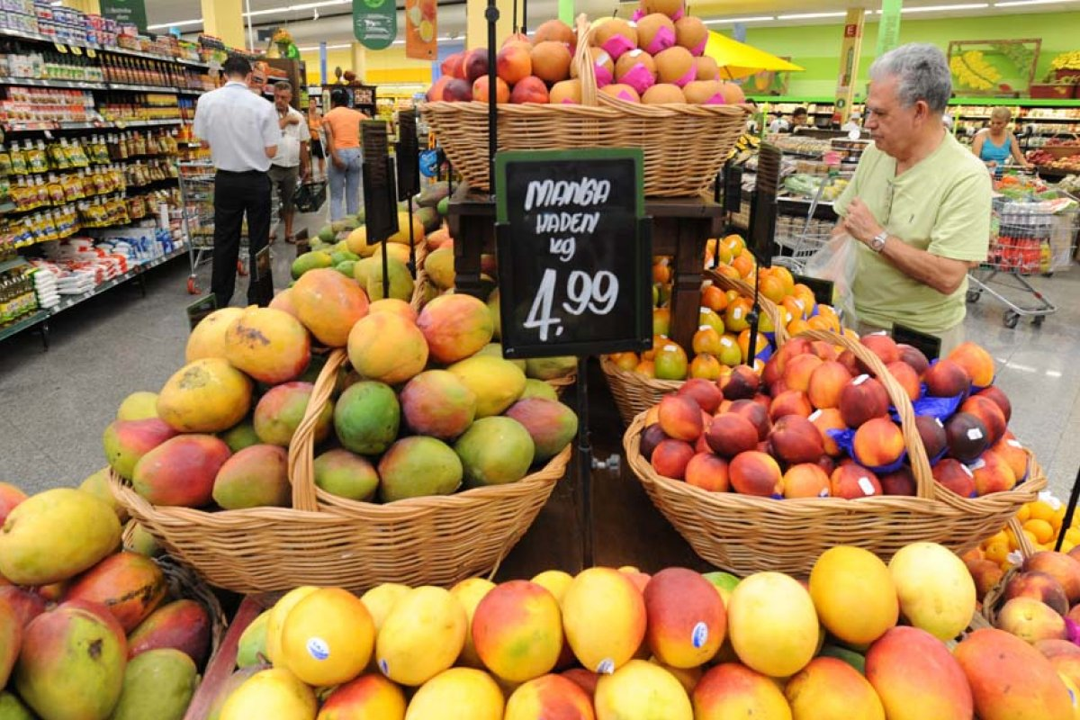 [IBGE: Preço dos alimentos sobe três vezes mais do que inflação em um ano]