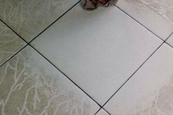 [Dona de casa ensina receita caseira para deixar o chão do banheiro brilhando]