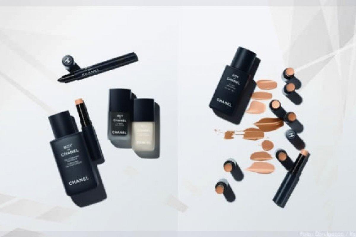 [Chanel expande coleção de maquiagem Boy de Chanel para homens]