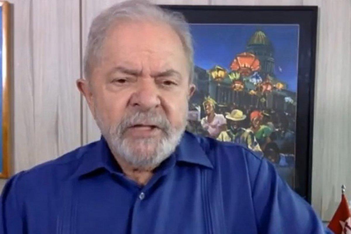 [Lula defende interferência de Bolsonaro na PF e acusa Moro de criar