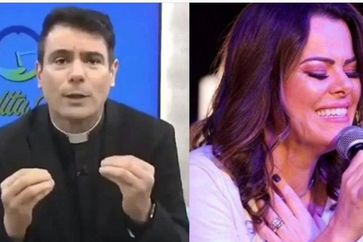 """[Padre Juarez reage opinião de Ana Paula Valadão: """"Burra e preconceituosa""""]"""