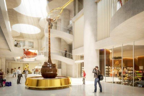 [Com nove metros quadrados de altura, maior fonte de chocolate no mundo é inaugurada na Suíça]