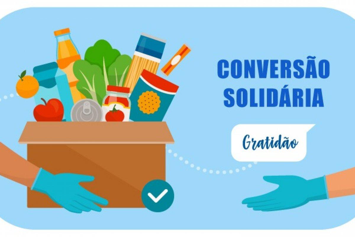 [Conversão solidária: clientes do Clube de Turismo Bancorbrás doam 1,7 toneladas de alimentos para instituições sociais]