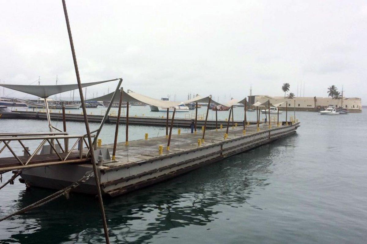 [Com maré baixa, travessia de lanchas é suspensa por 4h neste domingo ]