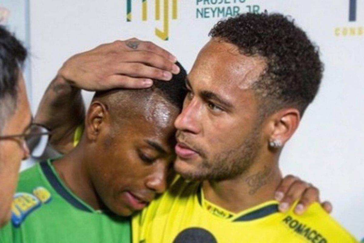 [Neymar declara apoio a Robinho após ele ter sido condenado por estupro na Itália]