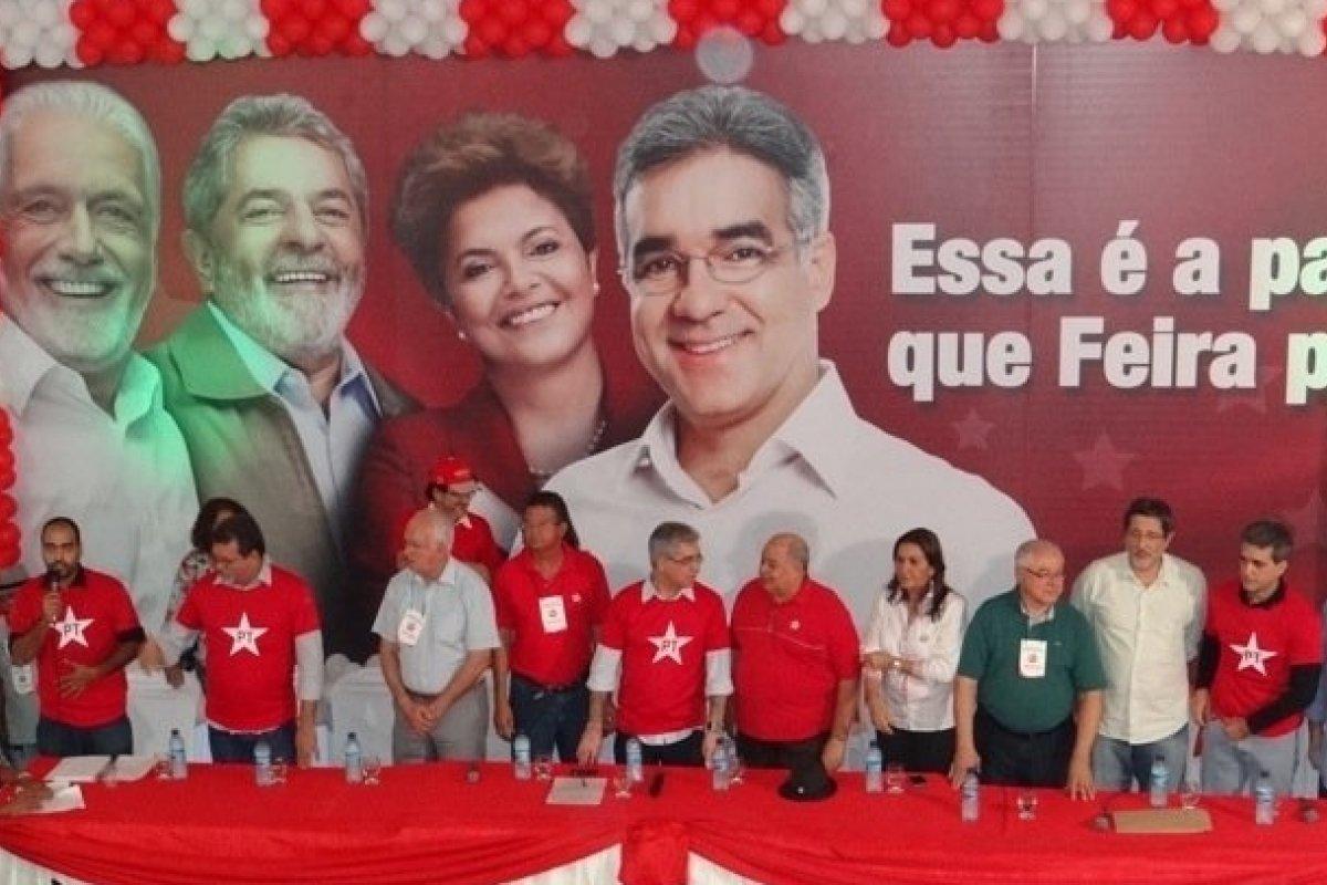 [Vídeo: Internauta denuncia candidatos do PT de Feira de Santana dando supostos benefícios para eleitores]