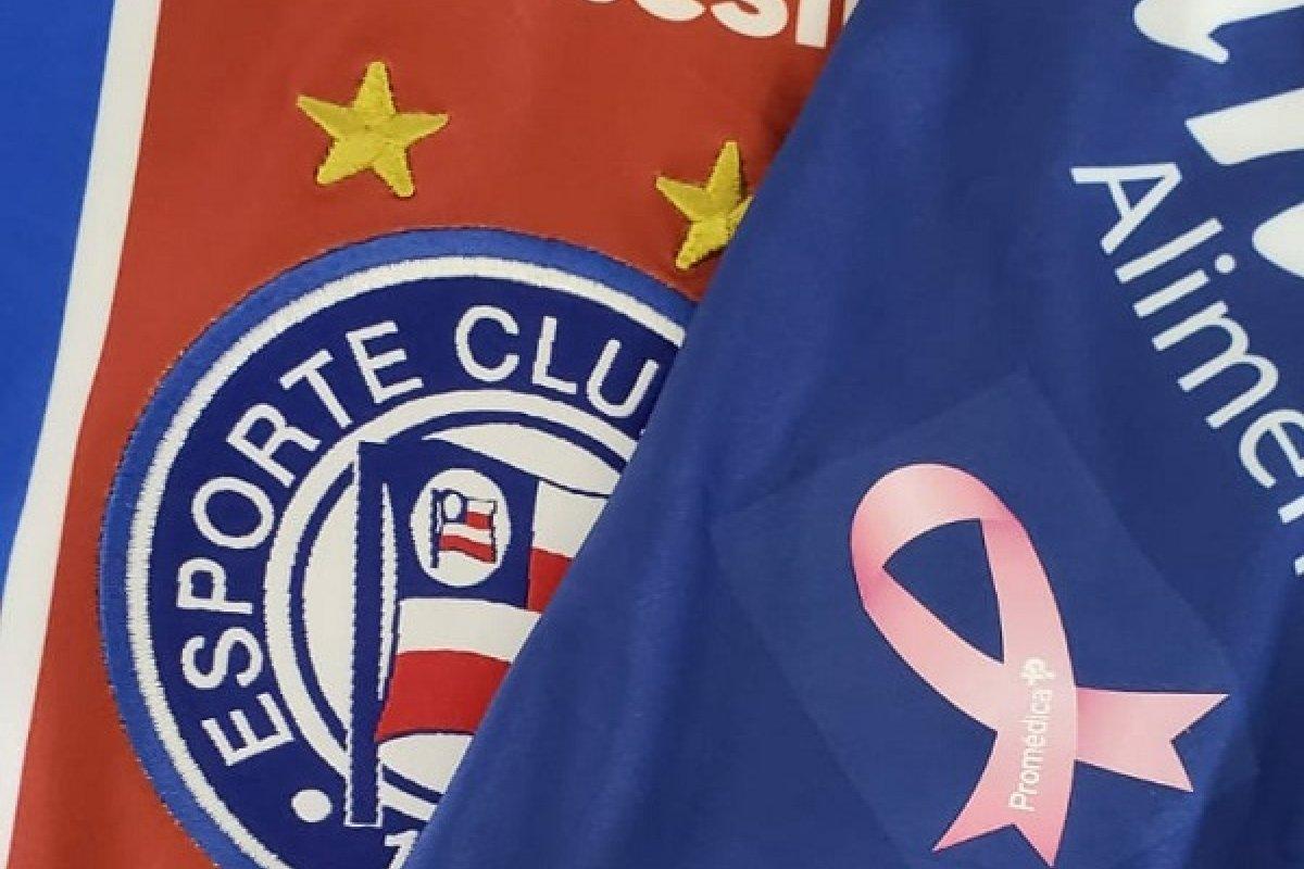 [Bahia adere ao Outubro Rosa em jogo contra o Atlético Mineiro]