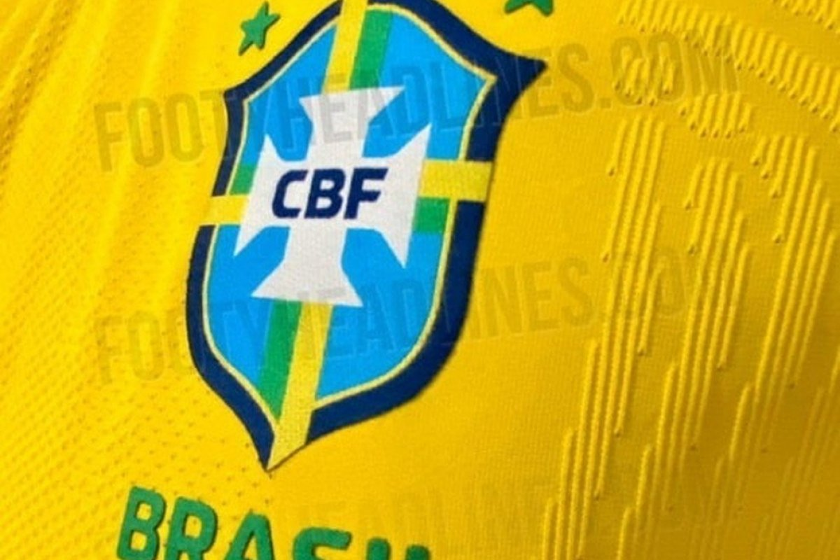[CBF anuncia que seleção brasileira irá estrear nova camisa em novembro]