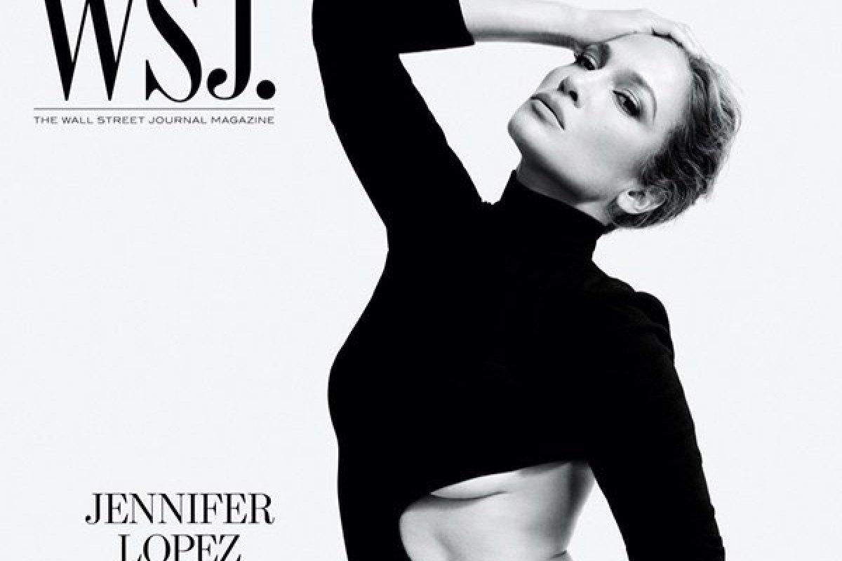 [Jennifer Lopez estampa a capa da 'WSJ. Magazine']