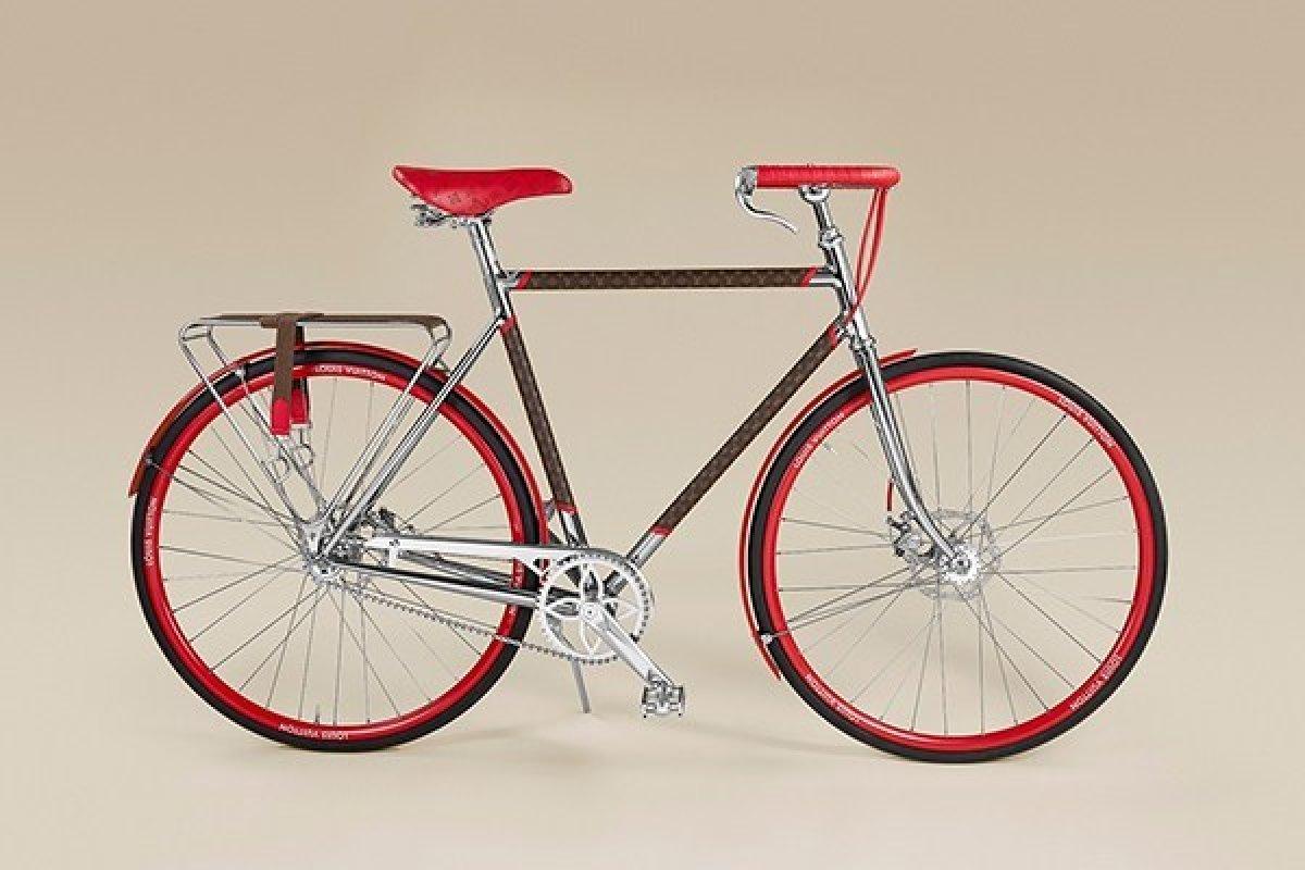 [Louis Vuitton e Maison Tamboite se unem e criam bicicleta]