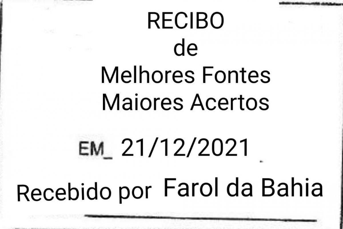 [O Carvalho agradece!]