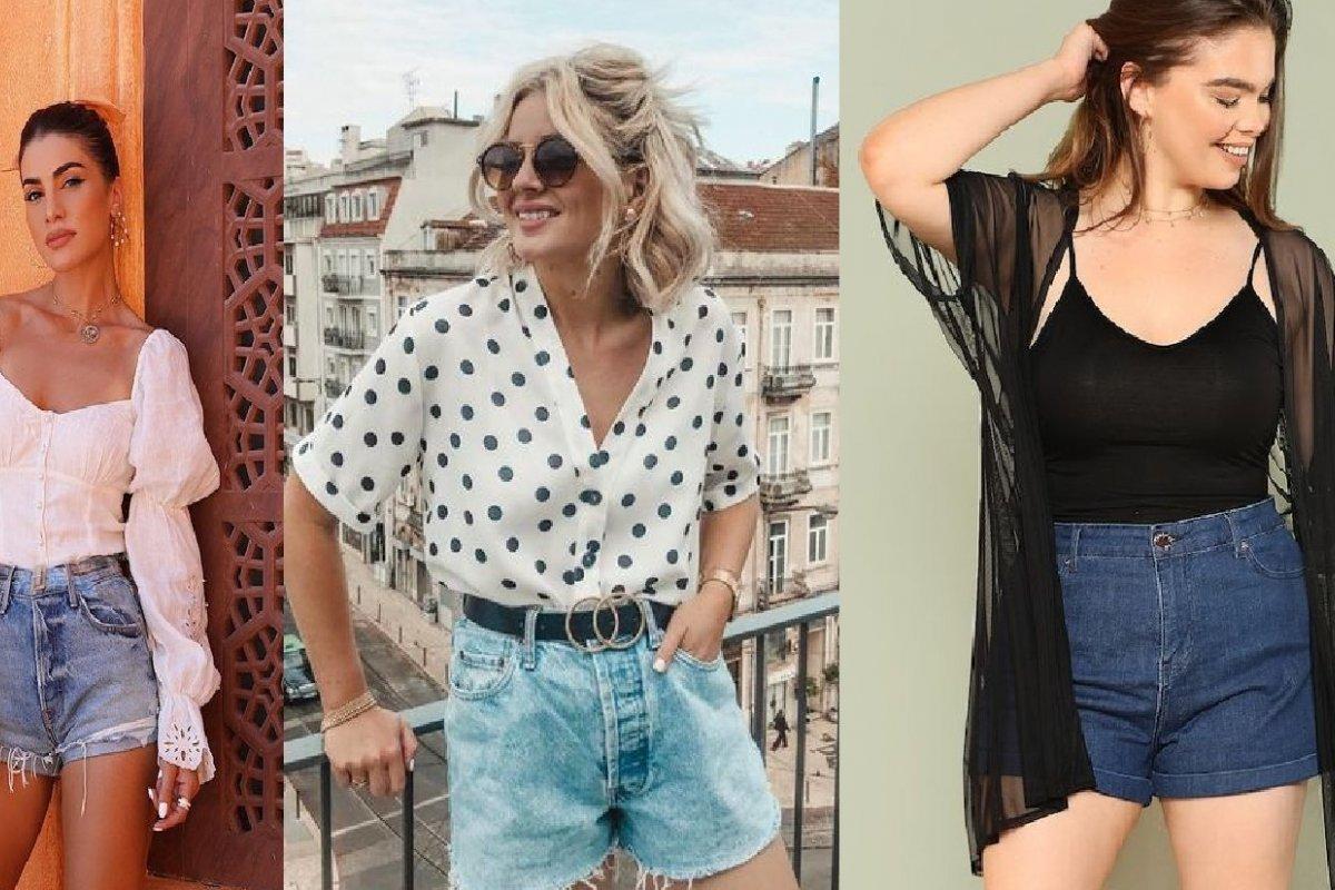 [3 formas de usar short jeans ]