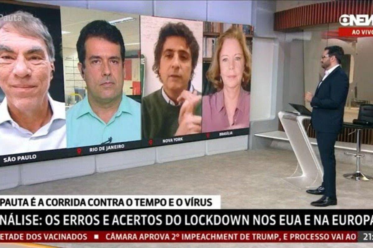 [Guga Chacra e Demétrio Magnoli batem boca na GloboNews]