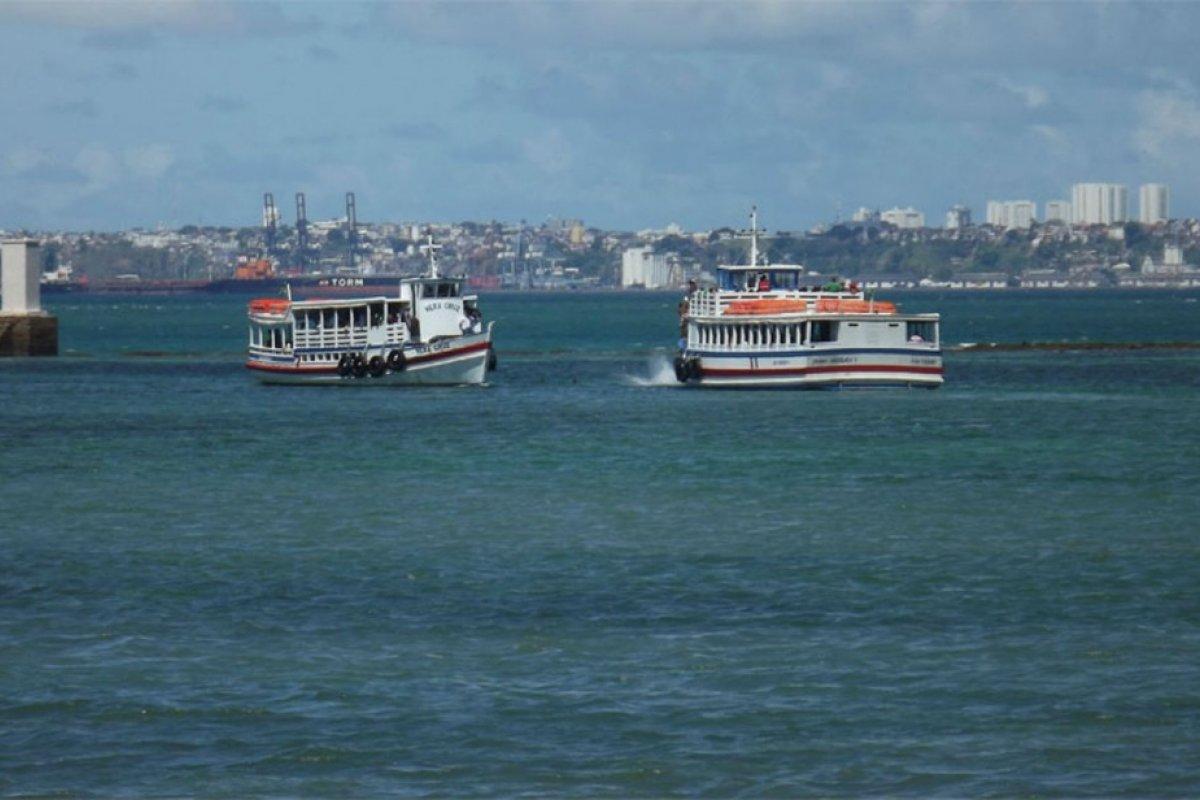 [Travessia de lanchas entre Salvador e Mar Grande tem saídas a cada 30 minutos]