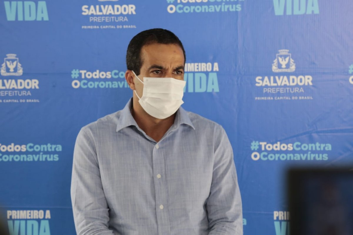 [Prefeito de Salvador anuncia início da vacinação da Covid-19 para 10h de 20 de janeiro]