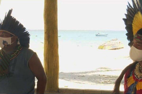 [Líderes indígenas do sul da BA denunciam falta de máscaras e álcool em gel ]