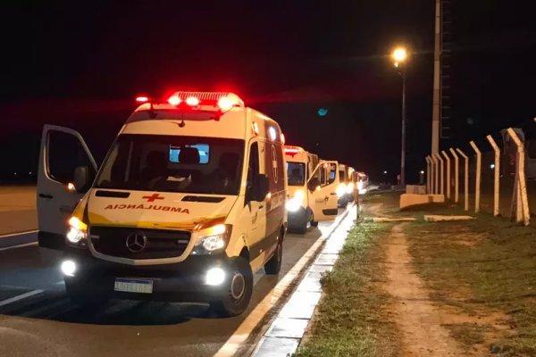 [Pacientes de Manaus são transferidos para São Luís pelas Forças Armadas ]