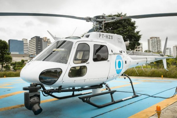 [Dando continuidade ao seu processo de contenção de gastos, Globo acaba com blindagem do Globocop carioca e deixa repórteres preocupados ]